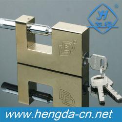 I lucchetti del ferro Yh1114 hanno impostato il lucchetto durevole di rettangolo simile con il tasto