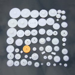 Toestel van het Stuk speelgoed van de Aansporing van de Pignon van de Douane POM het Cilindrische Planetarische Plastic