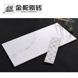 parete di stile di 300X600 400X800mm della stanza da bagno bianca moderna di Carrara e mattonelle di pavimento di ceramica