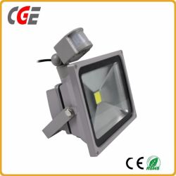 정원 가벼운 레이다 센서 LED 투광램프 고성능 레이다 센서 움직임 10W/20W/30W/50W/80W LED 플러드 빛 LED 갱도 빛