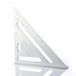 7インチのアルミ合金の三角の定規の三角形の定規の角度の定規