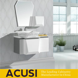 Madeira contraplacada de laca mobiliário moderno banheiro vaidade (SCA1-L30)