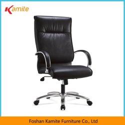 Foshan-Stadt-Möbel-System-Onlinefachmann PU-lederner Schwenker-hoher rückseitiges Büro-Möbel-Stuhl mit Rädern