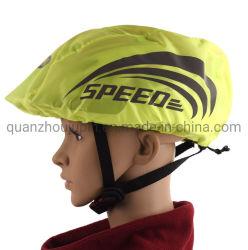 OEM lluvia anti reflectante de seguridad Casco de equitación