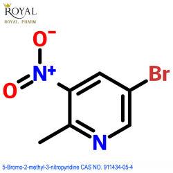 最もよい製造業者の供給最もよい品質5 Bromo 2メチル3 Nitropyridine CAS第911434-05-4