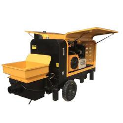 Petit Portable Pompe à béton Prix puissance diesel pompes à béton de remorque
