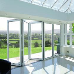 L'aluminium portes pliantes/portes Bifold/Portes Patio Design