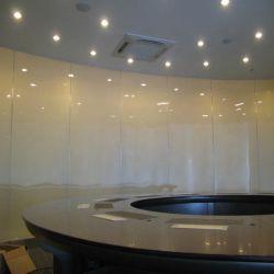 Parede de decoração Arte opaca temperado indistintas jateamento comutável foscas ácido exterior painel entalhado 8mm de vidro esmerilado