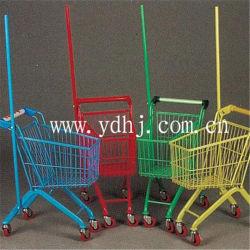 Carrello di acquisto sveglio del giocattolo del bambino del carrello di piccola dimensione di acquisto