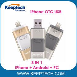 3 в 1 OTG флэш-накопитель USB для iPhone и Android iPhone OTG USB