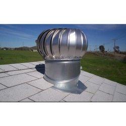 Tg-300 het door de wind aangedreven die Dak Ventilaor van de Lucht van de Turbine van Nopower van de Schoorsteen van Ss en de Legering van het Aluminium met Met een laag bedekte Polyester Fluorinecarbon wordt gemaakt