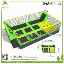 Малые адаптированные для использования внутри помещений батут парк для продажи