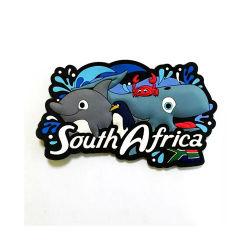 Animal personnalisé promotionnel réfrigérateur Magnet 2D 3D en caoutchouc PVC souple d'impression offset Fridge Magnet de souvenirs de papier