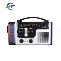 Migliore torcia elettrica radiofonica solare Emergency della dinamo della manovella, caricatore di Smartphone, leggente la lampada del LED