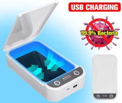 Сотовый телефон очистка портативных Ароматерапия функция телефона Disinfector воздухоочистителя