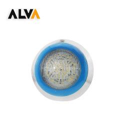 مصابيح حمام السباحة تحت الماء IP68 RGB مصابيح عن بُعد من الفولاذ المقاوم للصدأ SMD 12W-24W