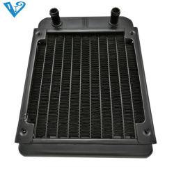 Dispositivo di raffreddamento liquido del CPU del dispositivo di raffreddamento del PC con il ventilatore dell'alluminio tre di raffreddamento ad acqua del PC