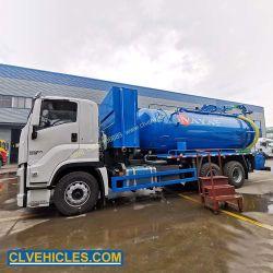 20000L ناقلة المياه والصرف الصحي مركبات ناقلات المياه المجارير النقل والالتصاق