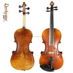 고품질 자체 제작 프로페셔널 카피 골동품 4/4 바이올린