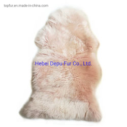 Haute qualité de la fourrure de mouton australien de tapis peau de mouton