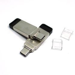 Fabrik MinidrehTypec Handy Typ-c USB des MetallOTG MiniHandy-U Platte kundenspezifischer