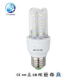 240V 4U 32W LED 조명 콘 전구 하이 루멘 에너지 절약 라이트 유리 튜브 및 PCB LED 칩