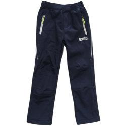 Vestuário impermeável de vestuário exterior para crianças Boy Fleece revestidas de calças Desgaste Soft-Shell