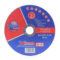 البيع الساخن China Factory115X1.0X22.2مم قرص قطع المعادن لعجلة الطحن Resin قطع الجلاخة القاطع عجلات قطع الاقتصادي وطحن القرص كاشط