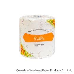 2020 Hot Sale du papier de soie de pâte de bois vierge du rouleau de papier toilette doux
