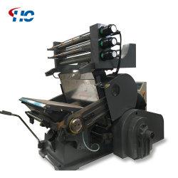 Lámina de Manual de Hot Stamping Máquina para equipos de impresión de embalaje de cuero