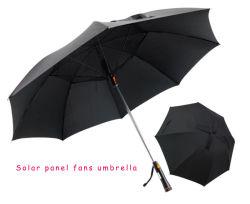 """"""" mano 27 aperta ed ombrello di Rewind con l'ombrello lungo creativo solare della maniglia dei 8 ossa del ventilatore e l'ombrello solare dell'ombrello di marchio di benvenuto dell'ombrello solare su ordinazione verticale del ventilatore"""
