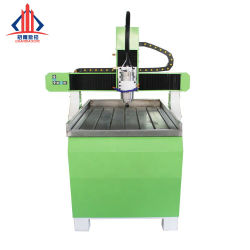 小さい300*300 CNCのルーター機械6090/Wood/Plastic/MDF切り分けること