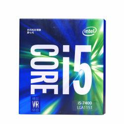 인텔 코어 I5 I5-7400에 의하여 상자에 넣어지는 처리기 CPU LGA 1151 땅 7개의 시리즈 처리기 I5 7400 FC-LGA 14 나노미터 쿼드 코어