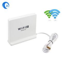 2.4/58 Ггц двухдиапазонный Extended WiFi 6 Desktop магнитных антенна с SMA кабель 1,5 м для 802.11ax WiFi 6 маршрутизатора и сетевой платы