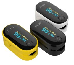 Pulsossimetro con morsetto a dito per prodotti medicali con display OLED