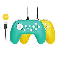 regolatore compatto collegato 1.8m del gioco di Gamepad ergonomico per la maniglia principale ospite della pinsa della sezione comandi motore del Lite/dell'N-Interruttore con il regolatore 2