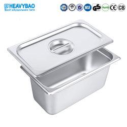 Heavybao контейнера Gastronorm Gn доски крышкой из нержавеющей стали
