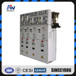 Gruppo di comando isolato a gas SF6 24kv 1250A alta tensione media