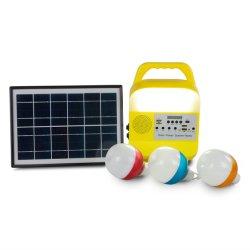 La luz de la Energía Solar lámpara LED portátil Tienda de campamento de reparar el coche de la luz de emergencia de pesca