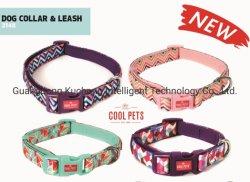 Los collares de perro sublimación nuevos collares de patrón