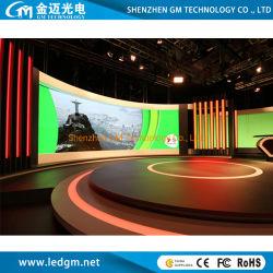 إعلان حائط فيديو LED داخلي كامل الألوان P3 للتثبيت الثابت