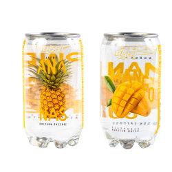 Senza pigmento acqua gassata acqua frizzante soffice sapore di mango