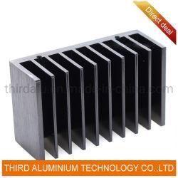 Горячая продажа LED газа алюминиевый радиатор для угла
