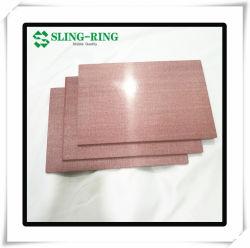 MGO/Óxido de aluminio con junta Magenesium Honeycomb Panel para salas limpias para la industria farmacéutica