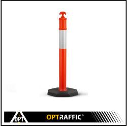 6kg Rodovia removíveis de plástico flexível da segurança rodoviária tráfego Superior T Tração estática