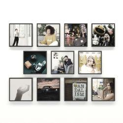 معرض صور إطار الجدار المثالي إطارات الصور البلاستيكية