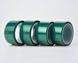 Nastro di mascheratura in silicone per componenti elettronici passivi, condensatori ceramici a chip (MLCC) da 0,06 mm in poliestere verde PET