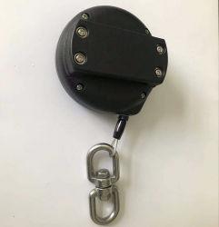 سحب صندوق سحب قابل للسحب للحماية من السرقة بكرة سلك قابلة للسحب باستخدام كابل خيط