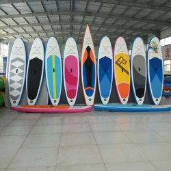 Inflables de alta calidad Longboard Drop Stitch Junta Surf Sup Stand Up Paddle Surf