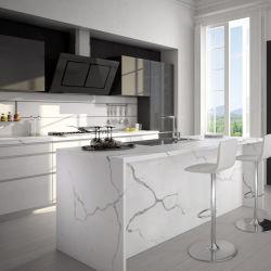 Des comptoirs de granit Calacatta Quartz Carrara de dalles de marbre artificiel de la Chine de prix pour le projet de l'hôtel